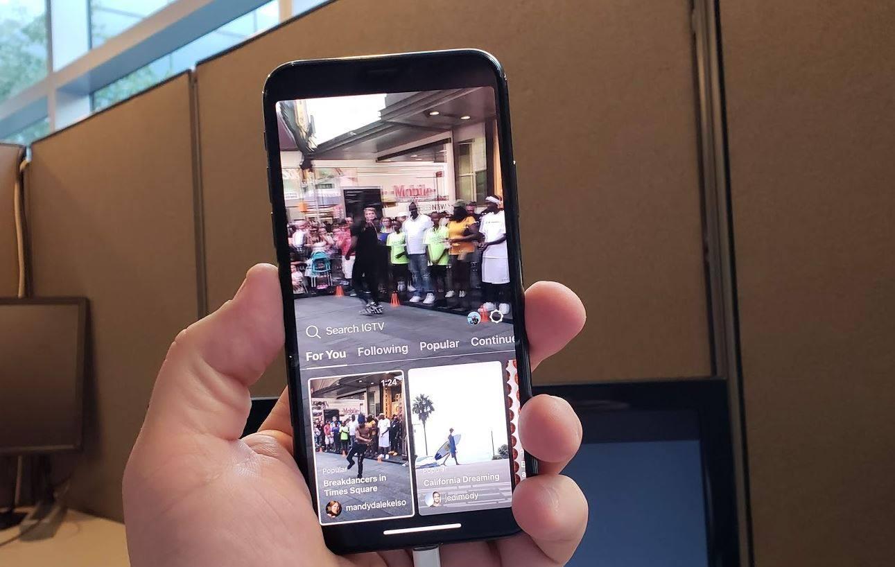 IG TV app
