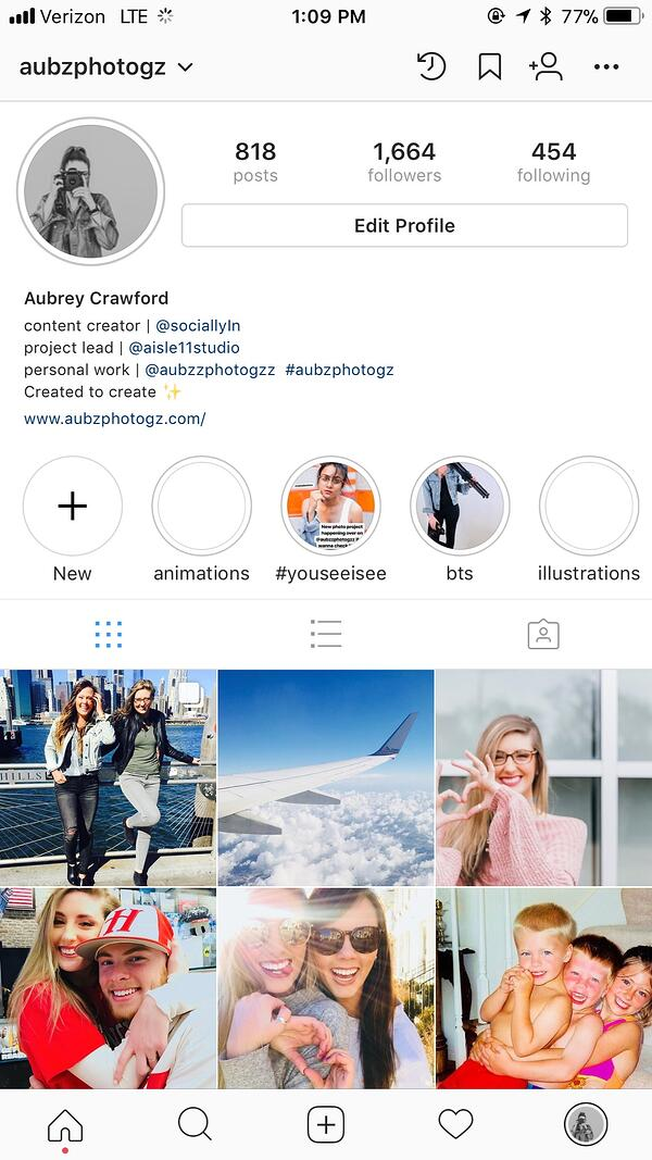 Add #Hashtags to Your Insta Bio!