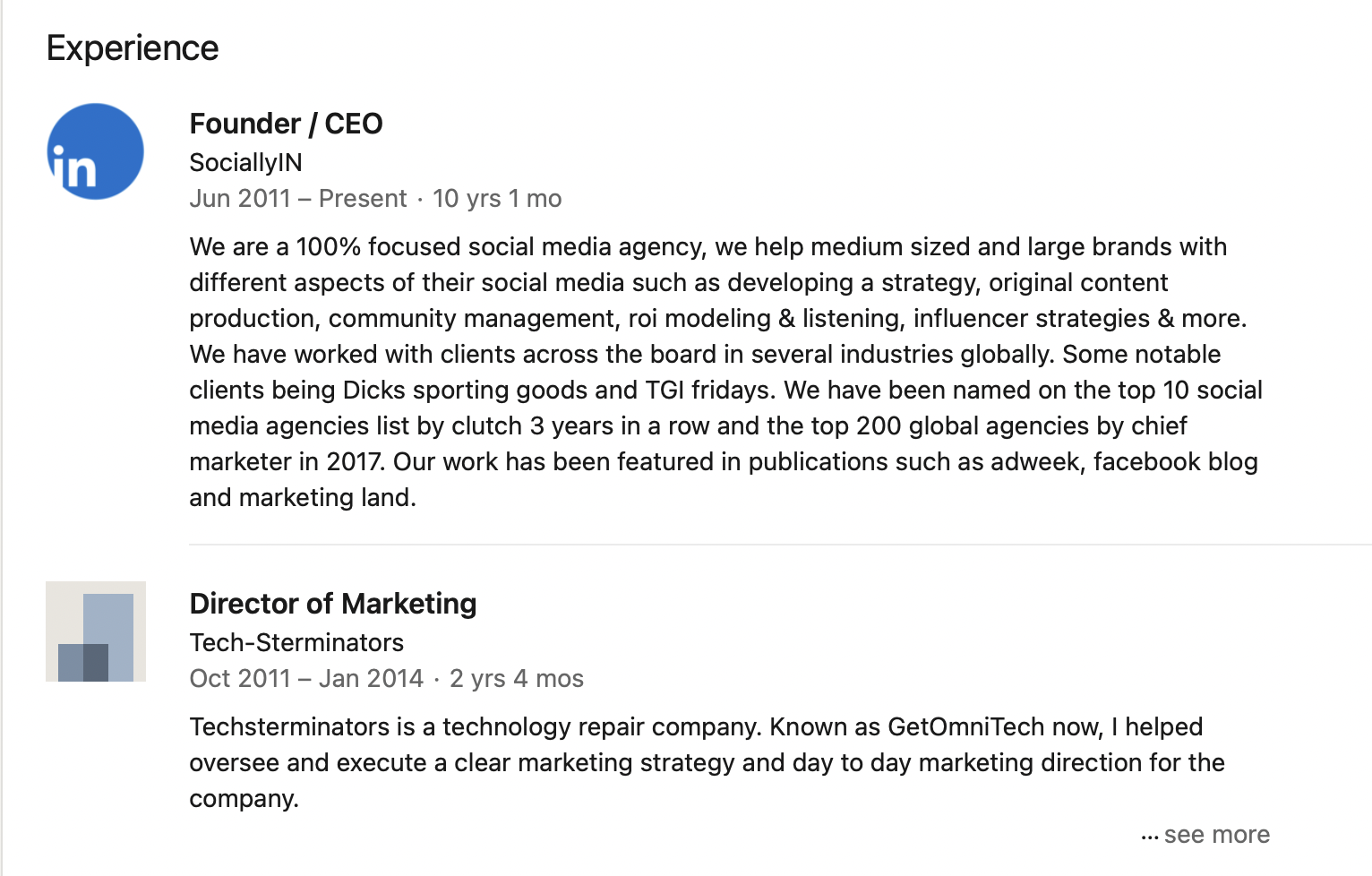 showcasing-experience-on-LinkedIn