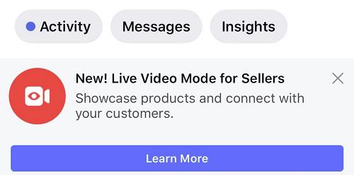 Live Video Mode