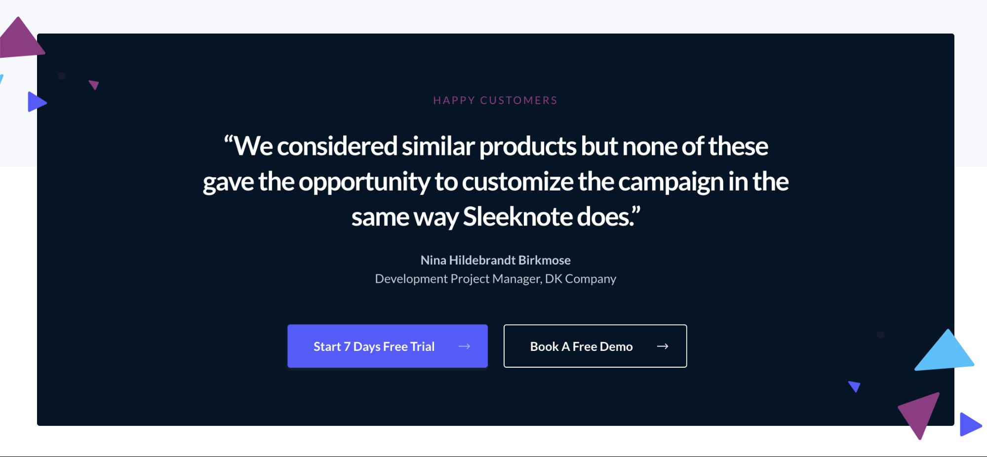 sleeknote-cta