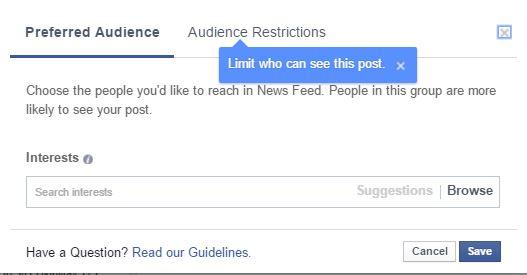 preferred_audiences